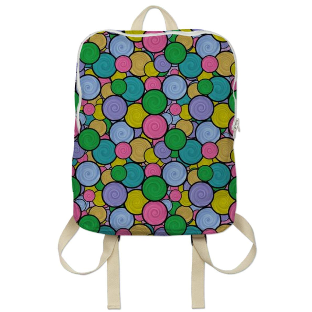 Swirly Paint Backpack