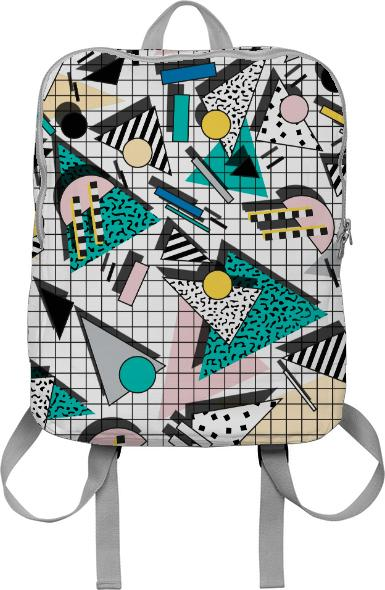 PAOM, Print All Over Me, digital print, design, fashion, style, collaboration, camille-walala, camille walala, Backpack, Backpack, Backpack, autumn winter spring summer, unisex, Poly, Bags