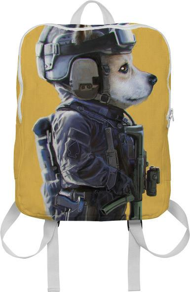 Corgi the SWAT