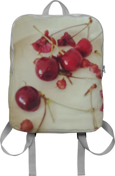 Eating Cherries Backpack