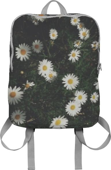 daisy garden dirt and summer backpack