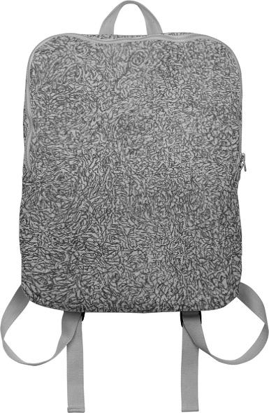 fractal madness texture backpack