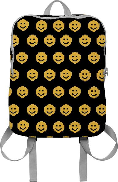 Smiles Over Easy Print Backpack