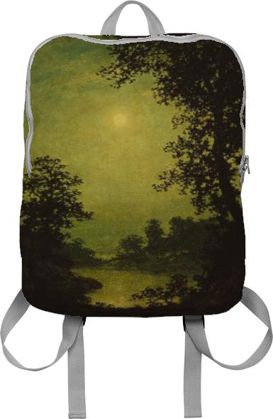 sunset tinted verdana painting backpack