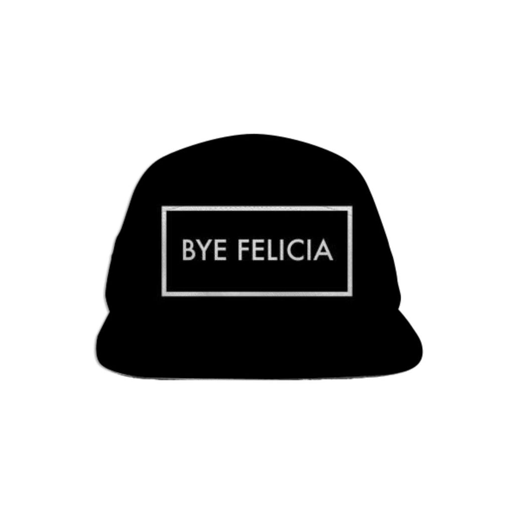 Bye Felicia Black Baseball Hat