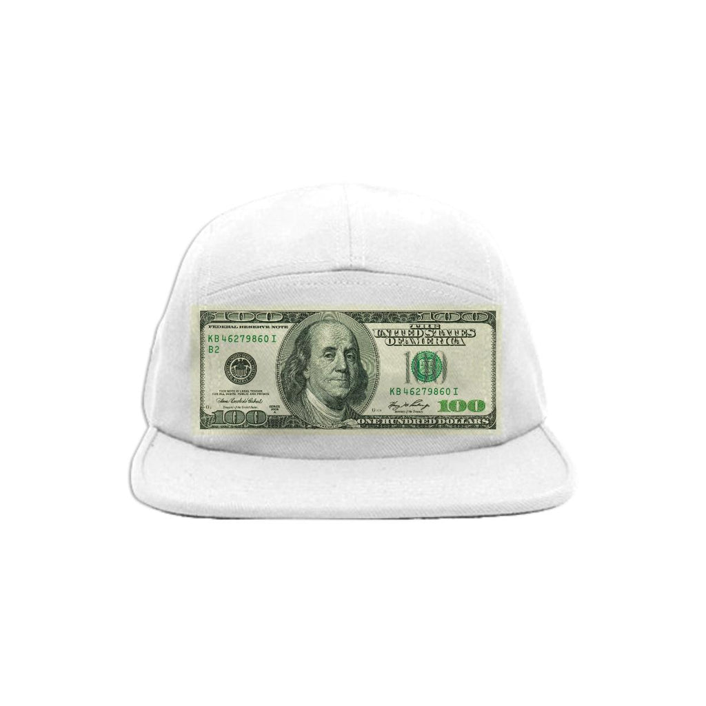 PAOM, Print All Over Me, digital print, design, fashion, style, collaboration, simseema, Baseball Hat, Baseball-Hat, BaseballHat, Dollar, Dollar, Bill, All, spring summer, unisex, Poly, Accessories