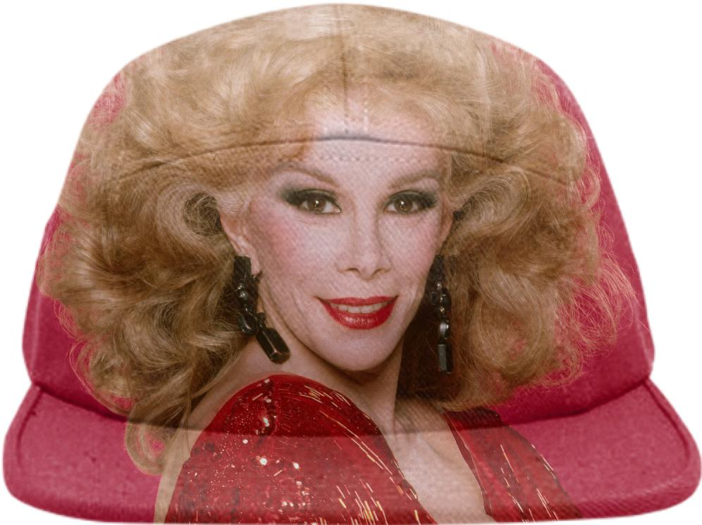 The Joan Rivers Hat In Red