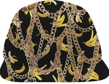 Banana Chainz Gold Hat