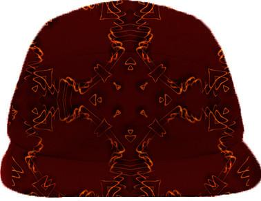 Copperish deco baseball hat