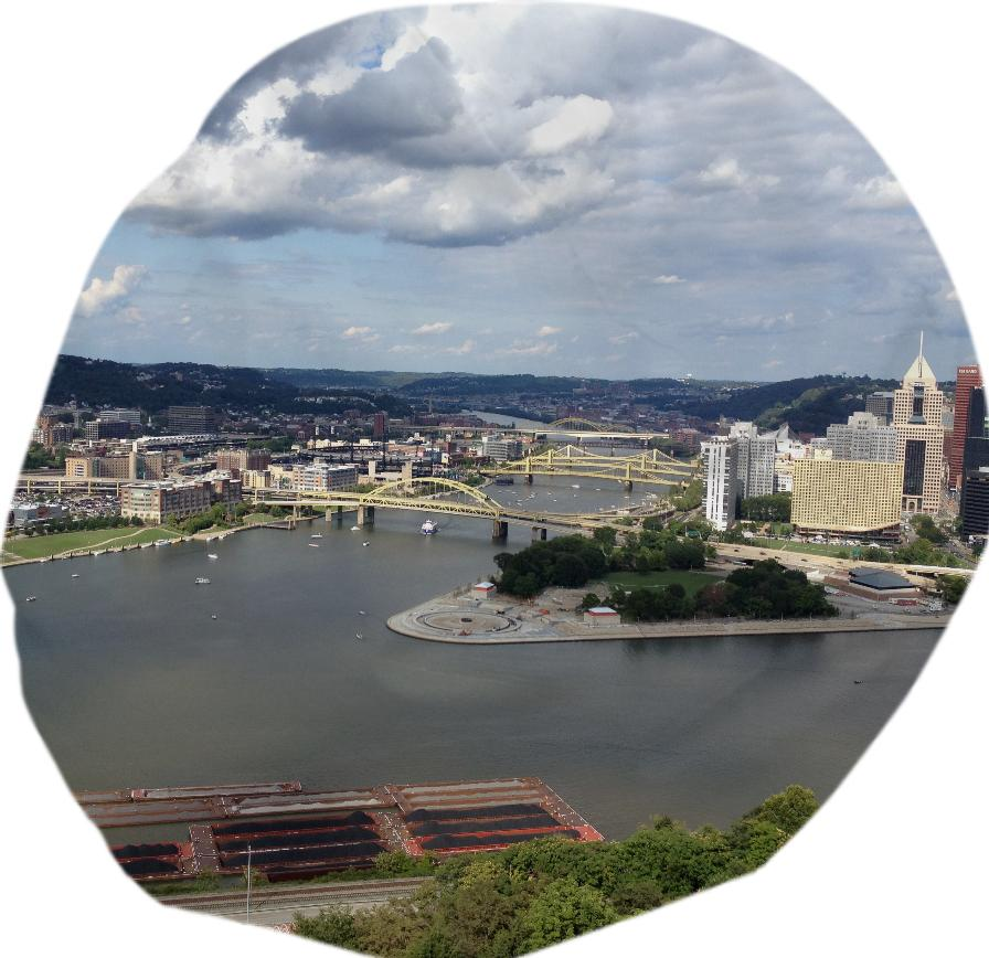 Pittsburgh point beanbag