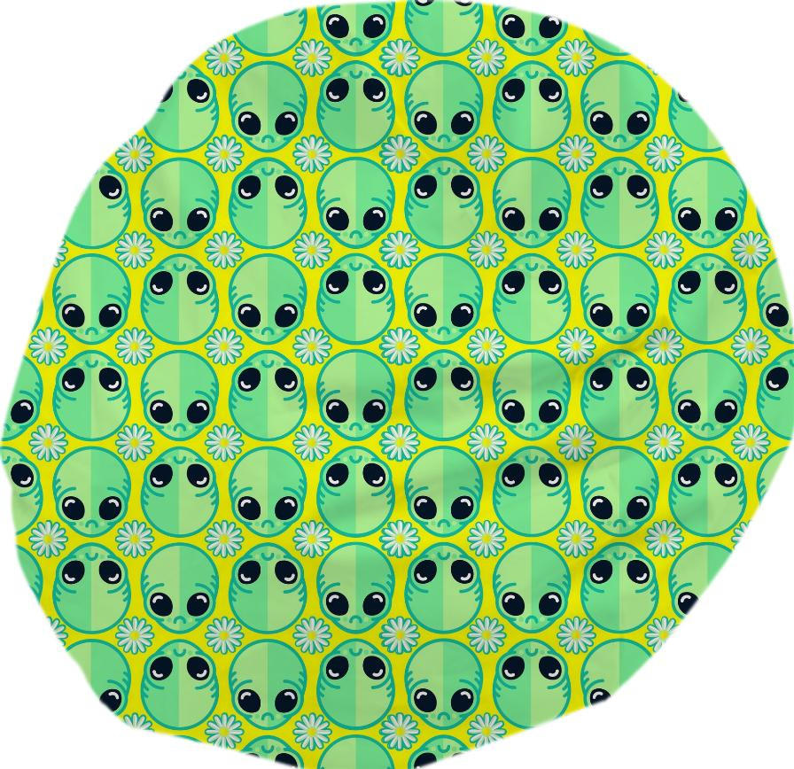 Sad Alien Pattern