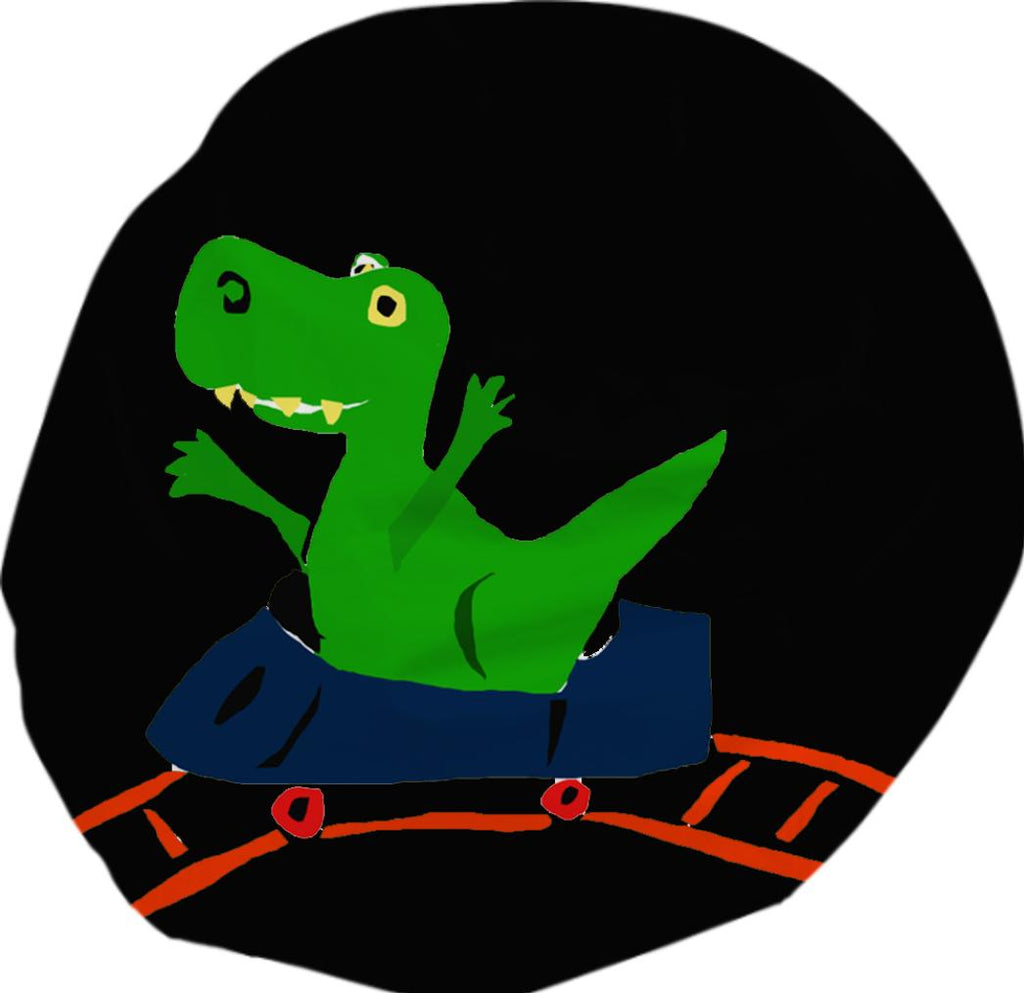 T Rex on Roller Coaster Bean Bag