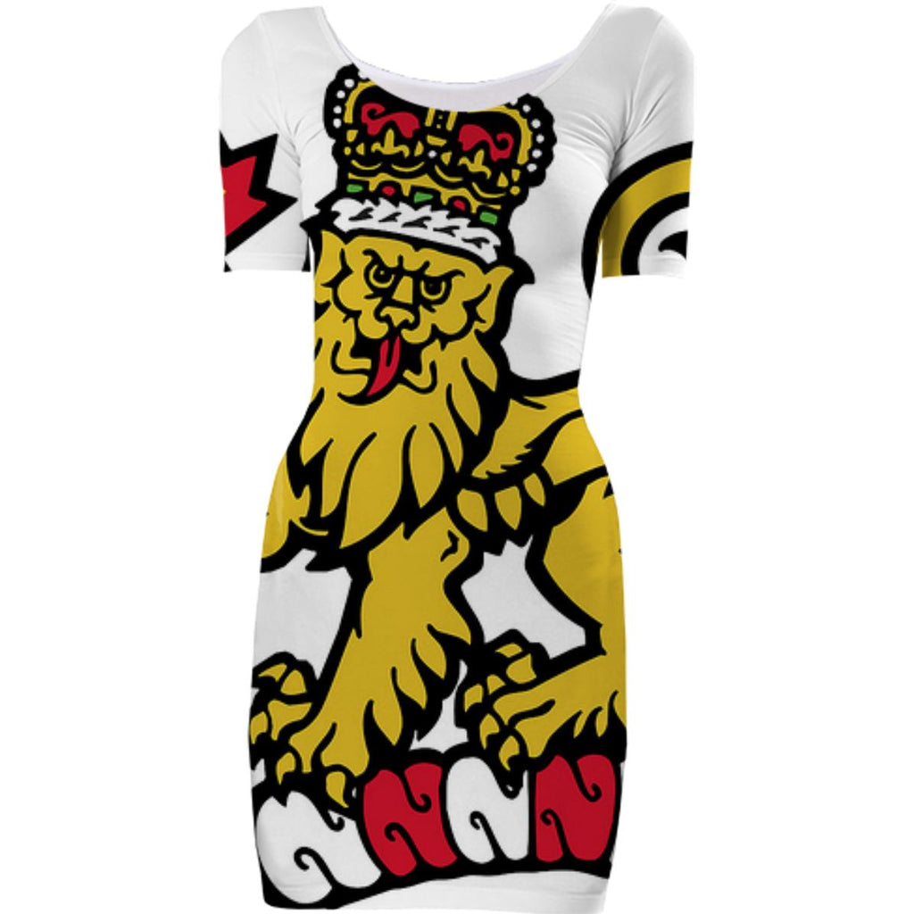 Crest of Arms Canada BodyCon Dress