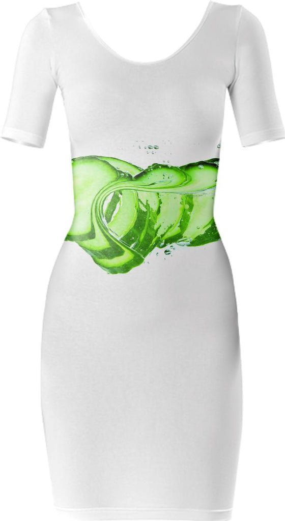 Cucumber Bodycon Dress