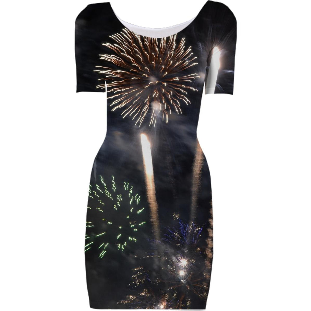 Fireworks Bodycon Dress
