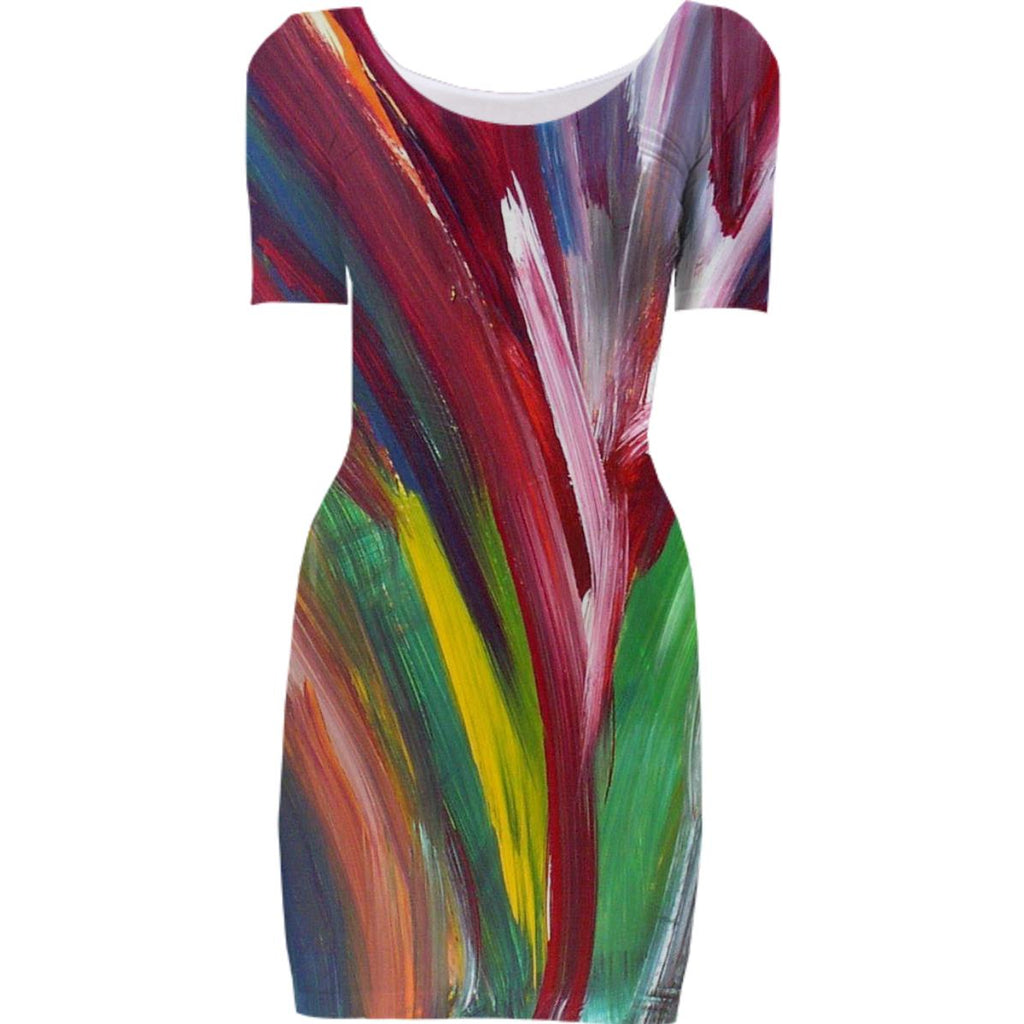 Bodycon dress Rainbow