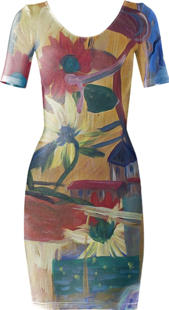 Van Gogh Spirit Bodycon 2