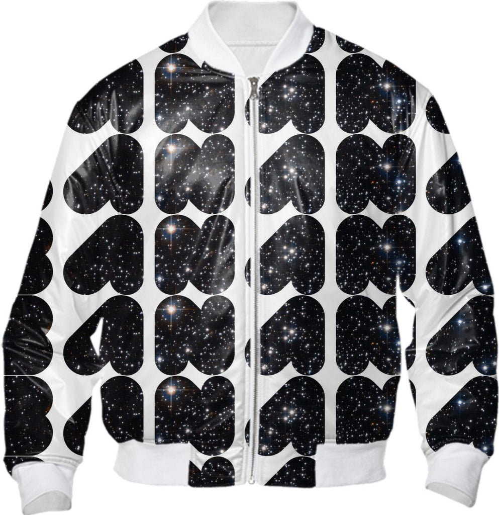 Banana In Space Bomber Jacket