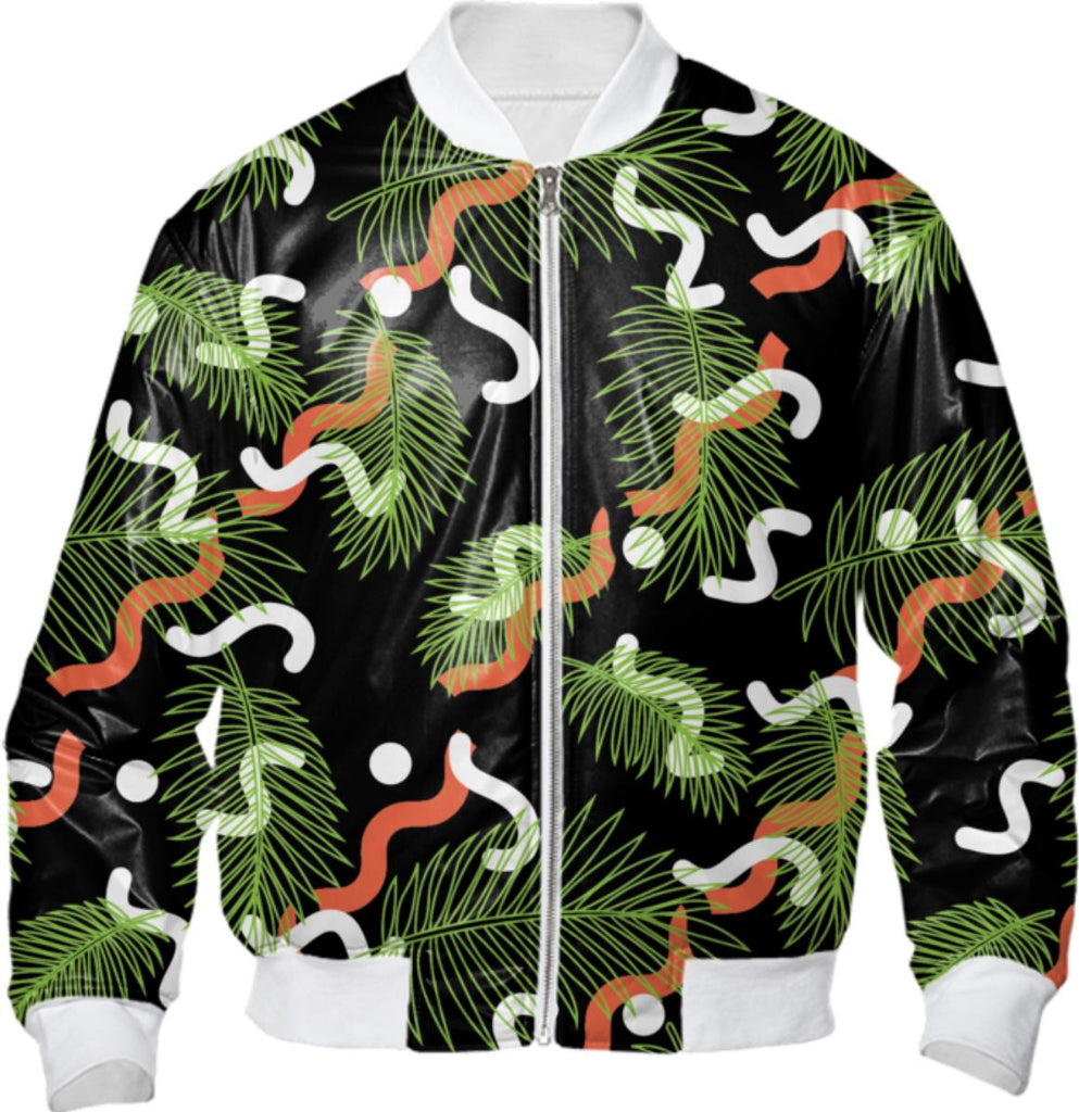 PAOM, Print All Over Me, digital print, design, fashion, style, collaboration, jshmck, Bomber Jacket, Bomber-Jacket, BomberJacket, Concrete, Junglist, Barbican, autumn winter, unisex, Nylon, Outerwear