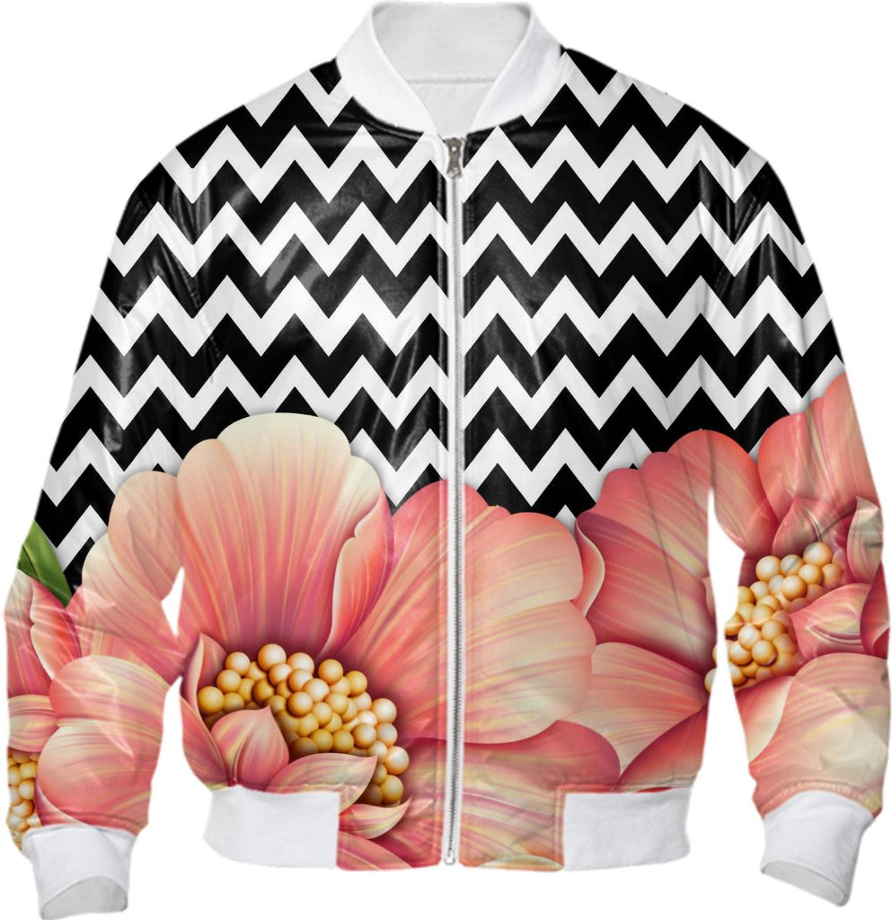 flower power and chevron