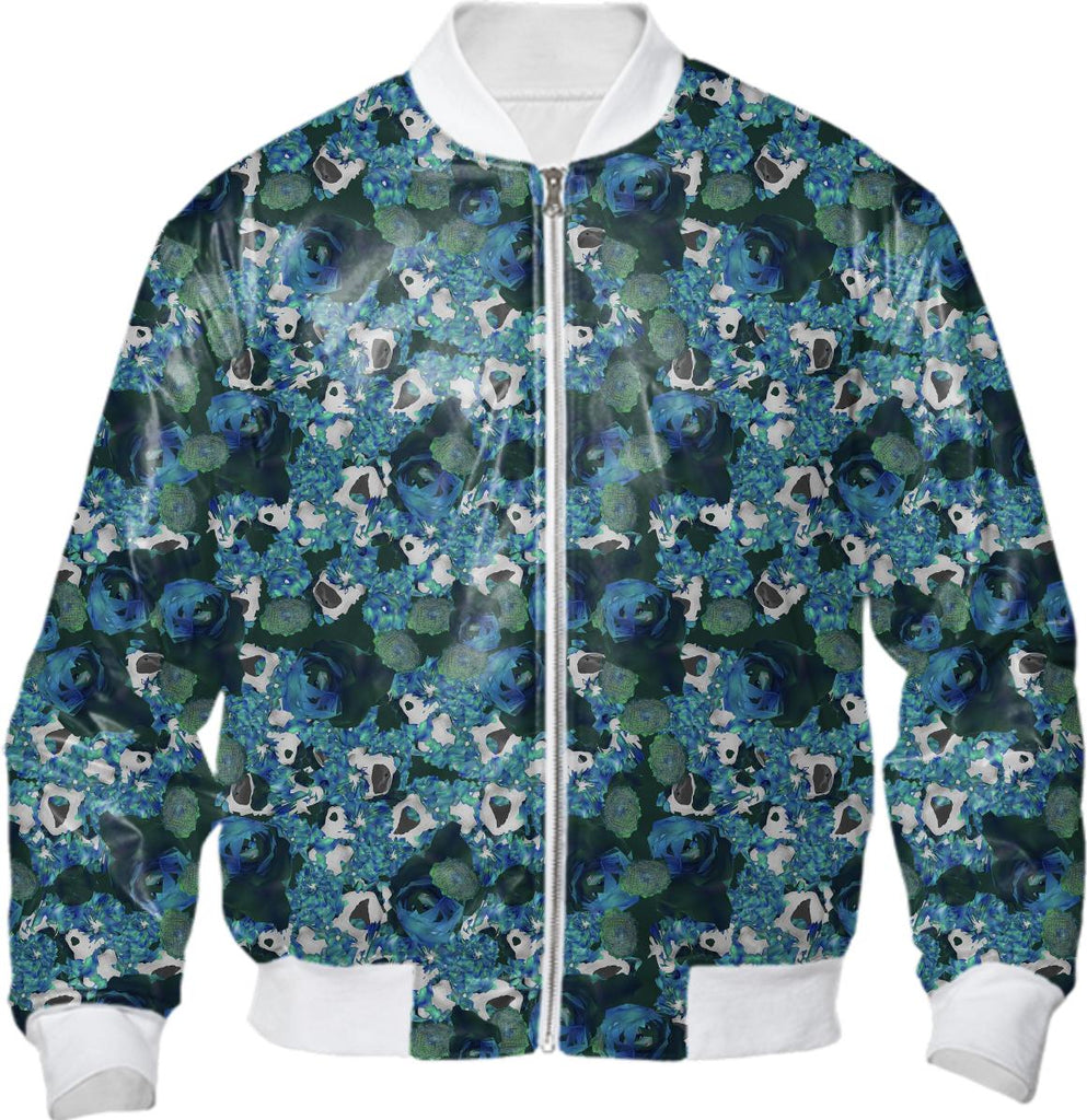 fractals all over bomber jacket
