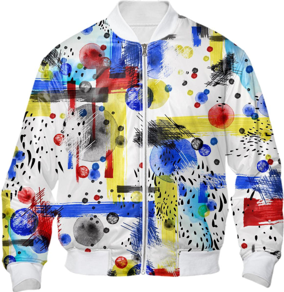 Geo Abstract Bomber