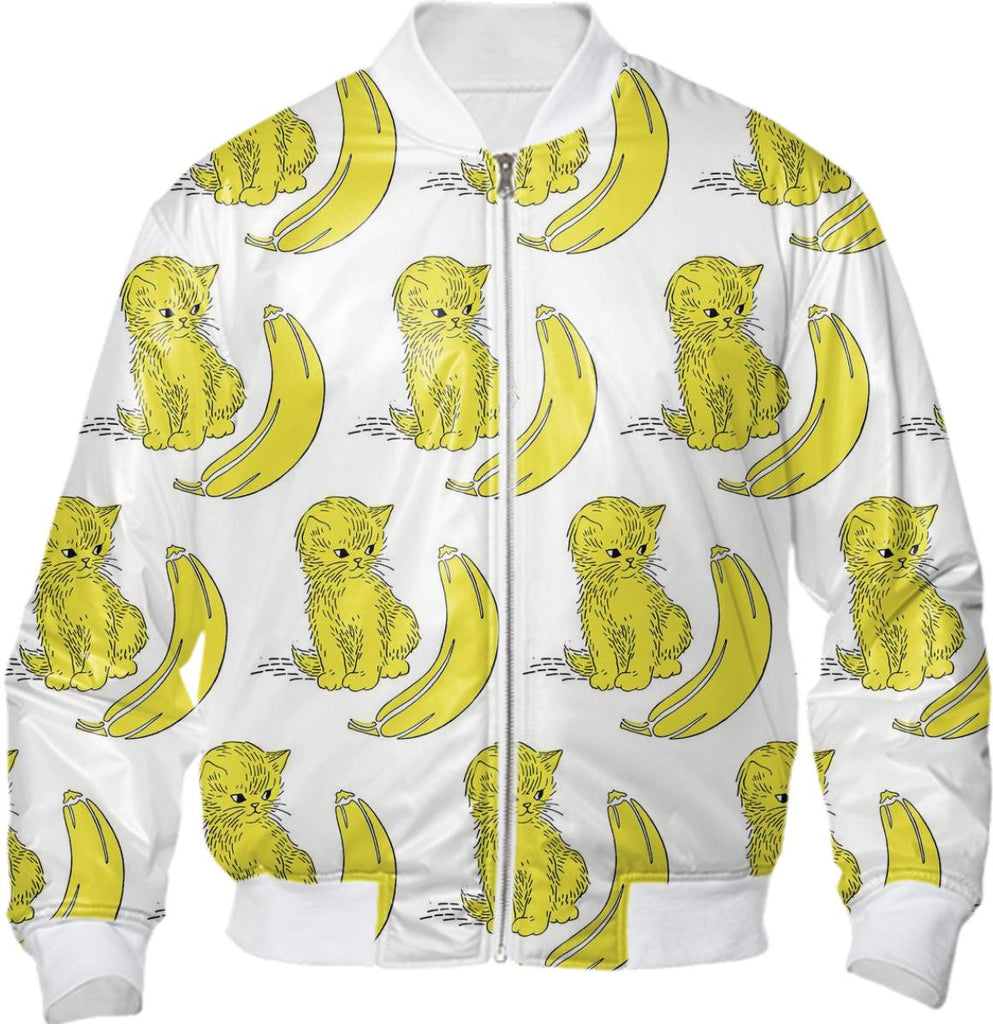 Kitty Kay Banana Bomber Jacket