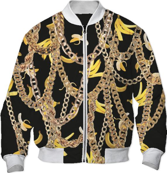 Banana Chainz Gold Black