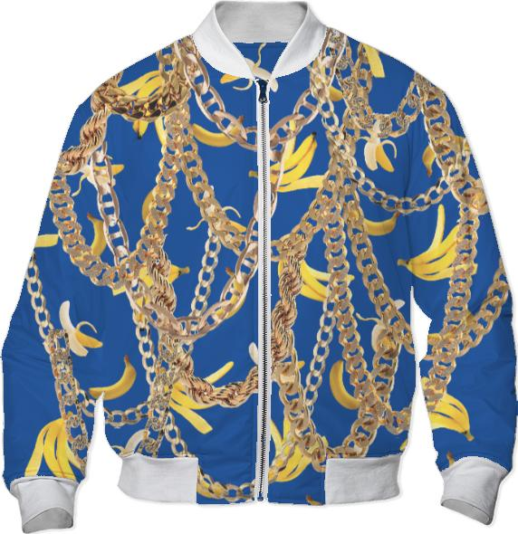 Banana Chainz Gold Blue