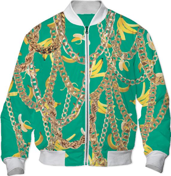 Banana Chainz Gold Emerald