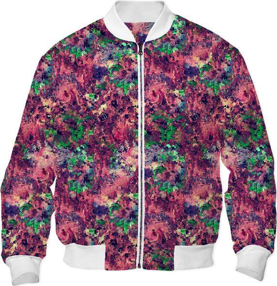 DigiFlora Bomber Jacket