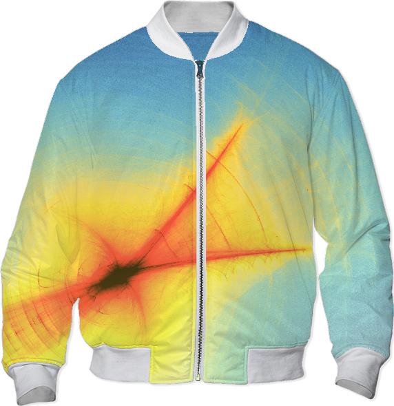 Feather Light Bomber Jacket