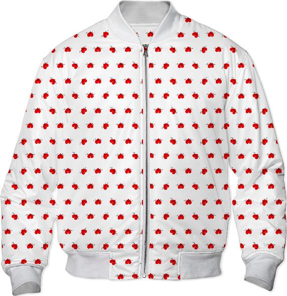 HoneyBun Bombs Away Bomber Jacket