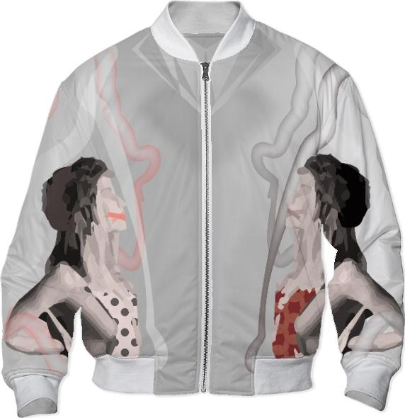 Mirrored Model Printed Bomber