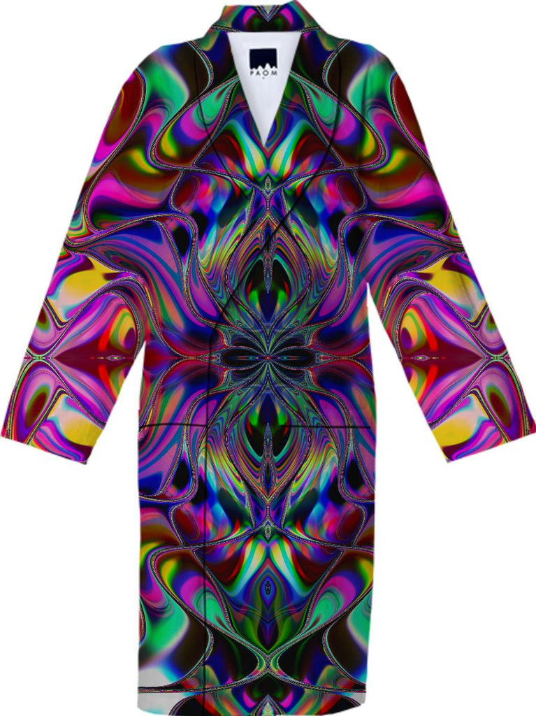 ANIKA Liquid Rainbow Cotton Robe