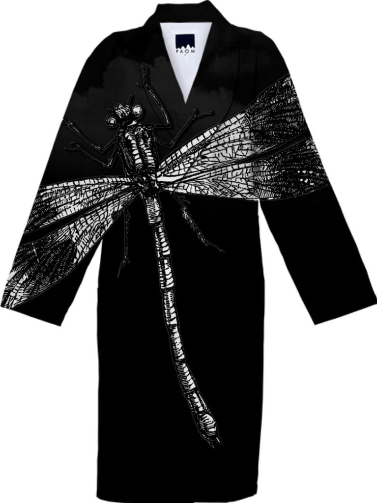 Dragonfly II Cotton Robe 3