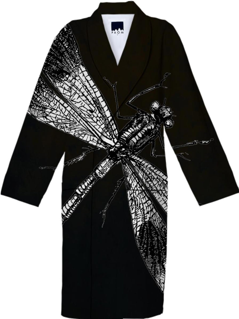 Dragonfly II Cotton Robe 1