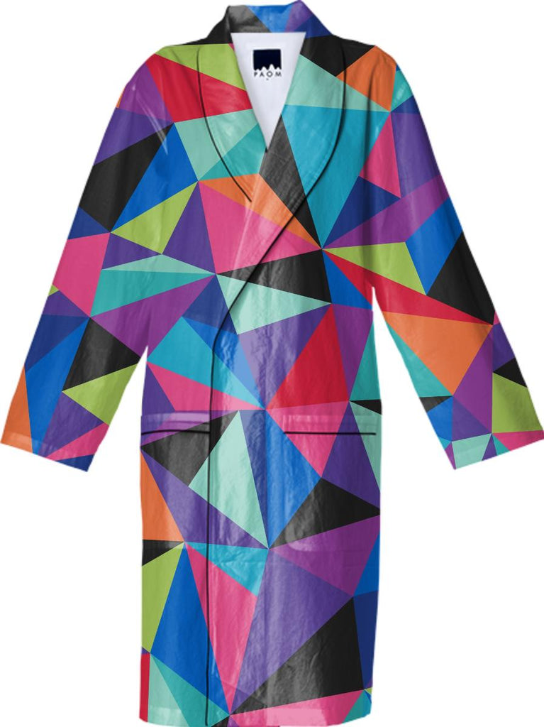 GEO POP COTTON ROBE