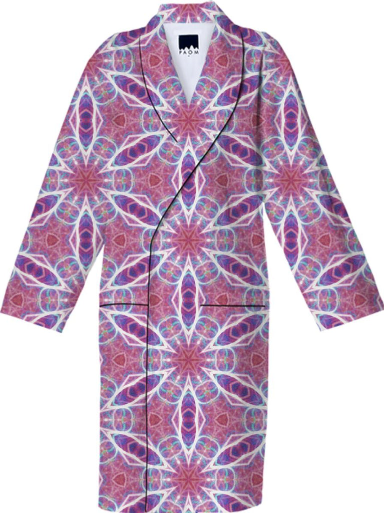Intricate Pink and Purple Fractile Robe