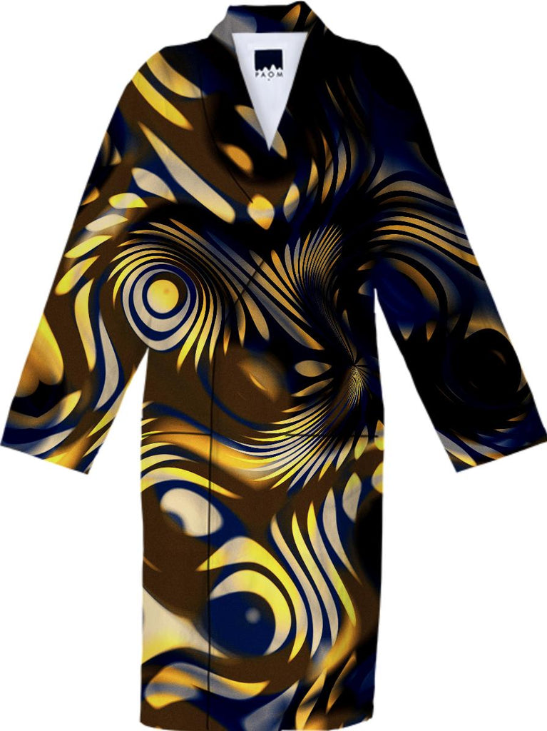 Oshi Bronze Cotton Robe