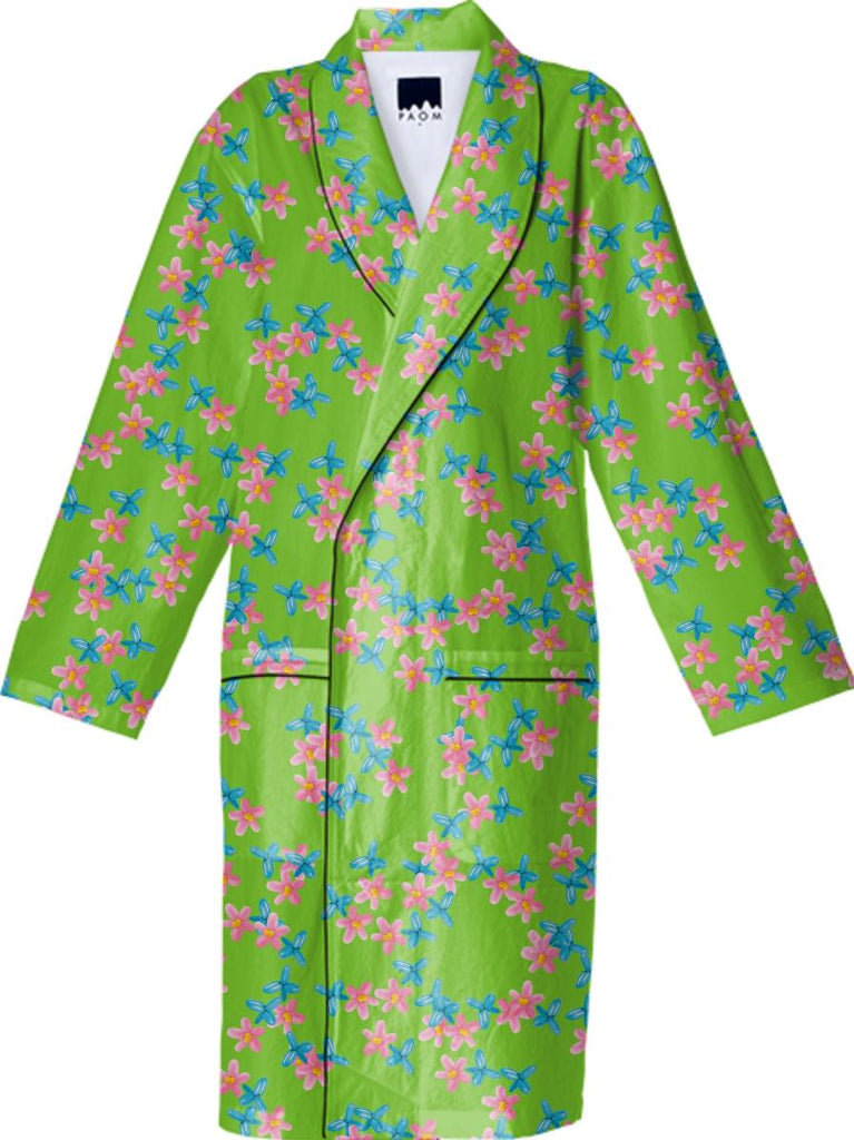 PLASTIC LIBERTY COTTON ROBE
