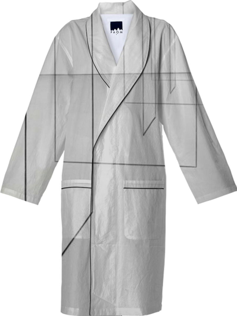 Space in Lines Robe