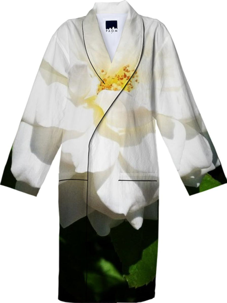 White Flower Robe