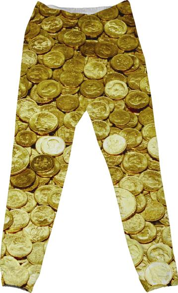Gold Coin pants