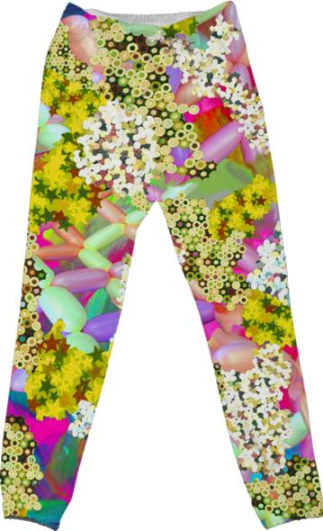 Glitter Balloon Pants