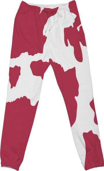Pink Cow Print