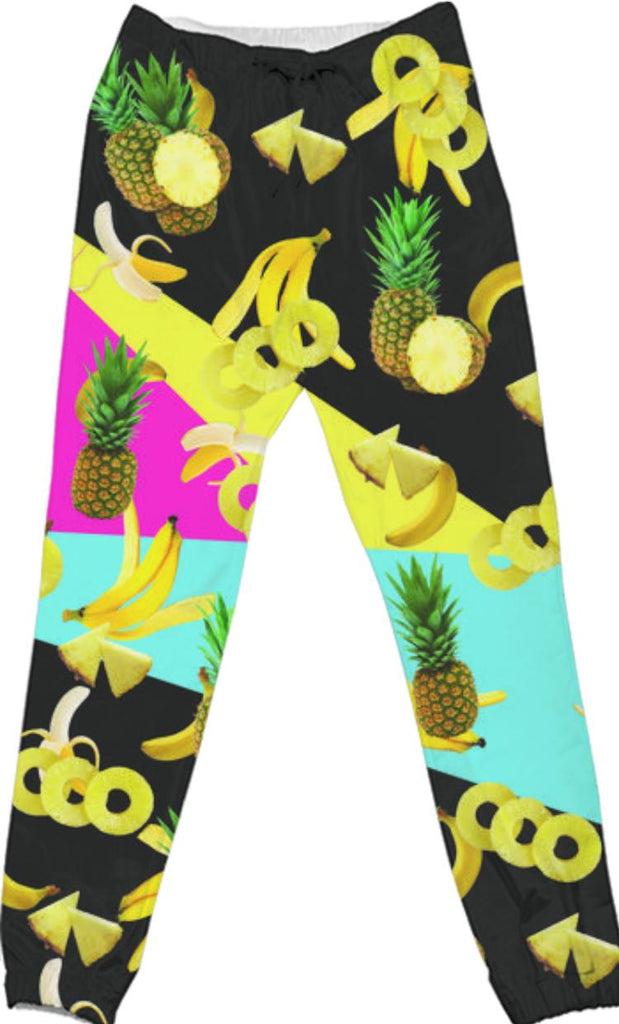 Tropical Cotton Pants
