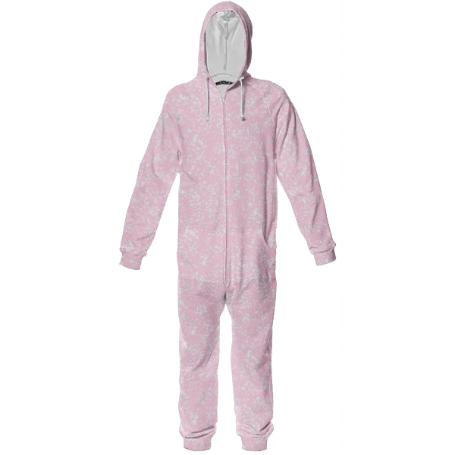 Frost Pink Onesies by LadyT Designs