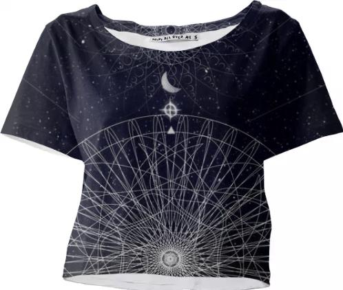 COSMIC crop top