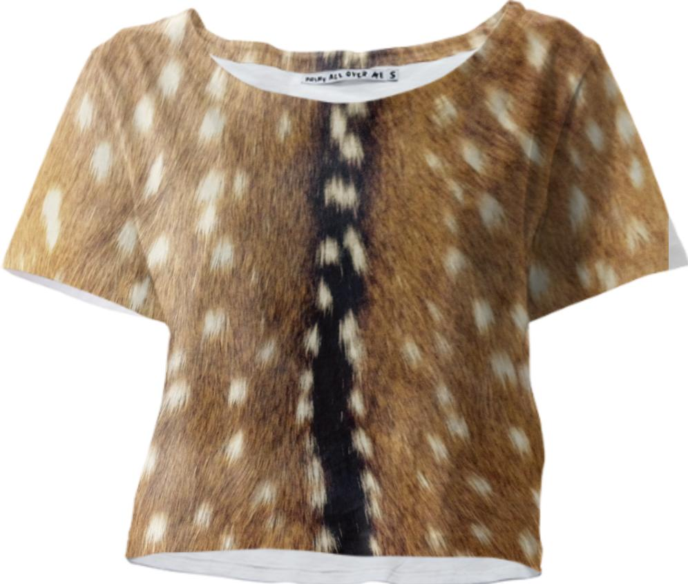 Fawn Cropped Tee